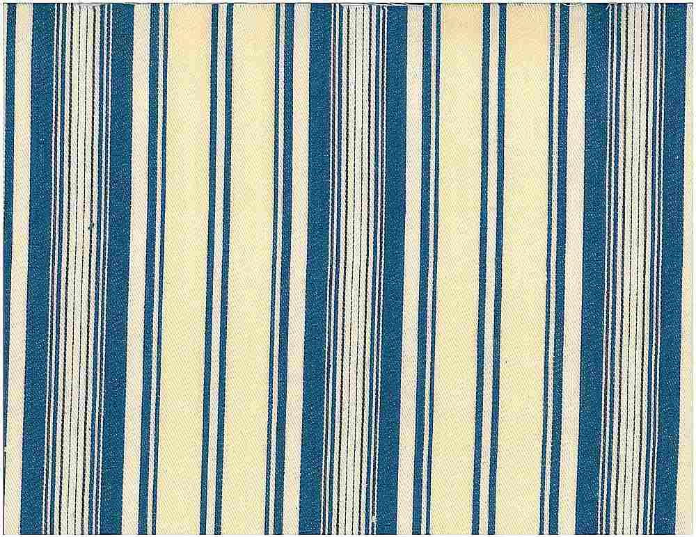 2049 / TOULOUSE STRIPE / BLUE/CREAM