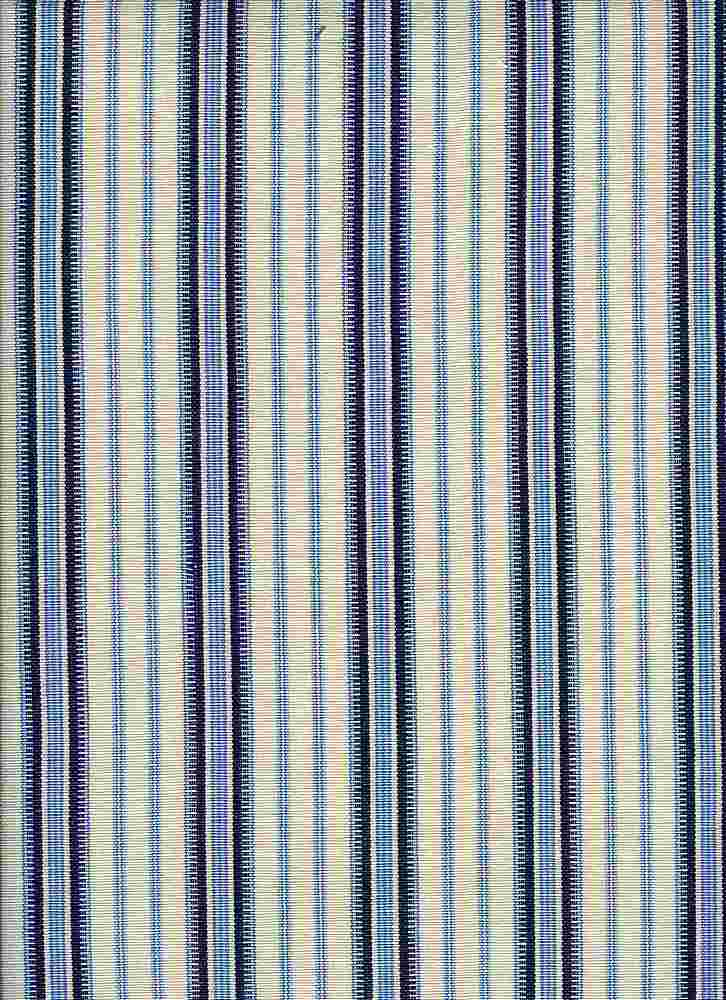 <h2>2068/2</h2> / MOROCCAN STRIPE / WHITE/BLUE
