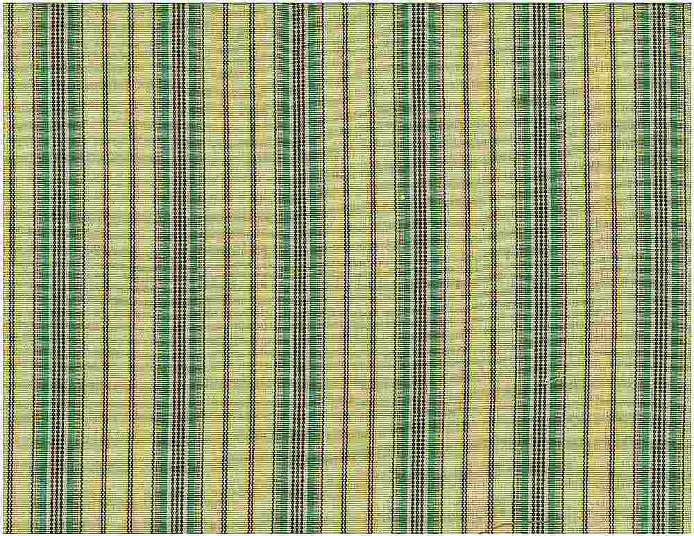 2068/3-01 / MOROCCAN STRIPE / GREEN