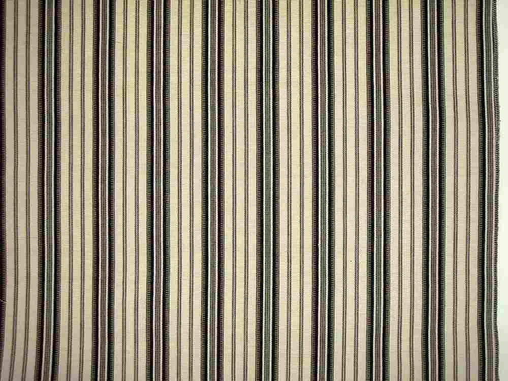 2068/4 / MOROCCAN STRIPE / WHITE/BLACK