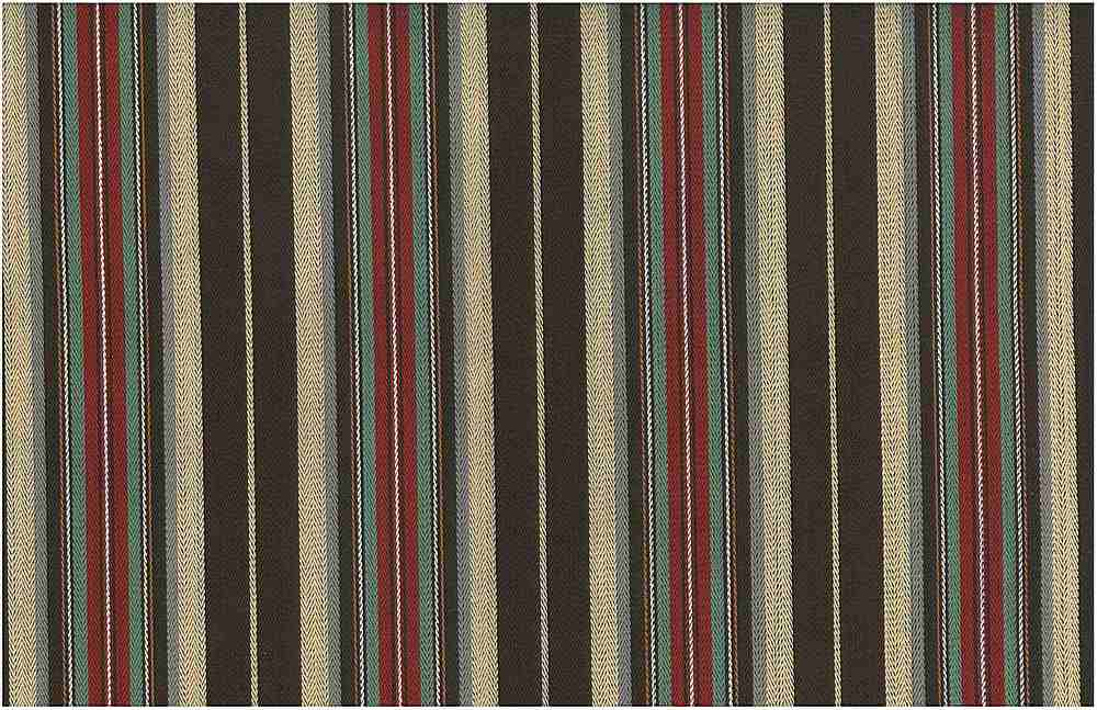 2234/1 / COWBOY STRIPE / CHOC/RED/GRN