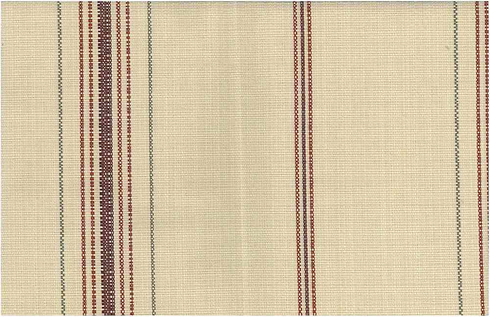 <h2>2239/1</h2> / FEEDSACK STRIPE / BURGUNDY