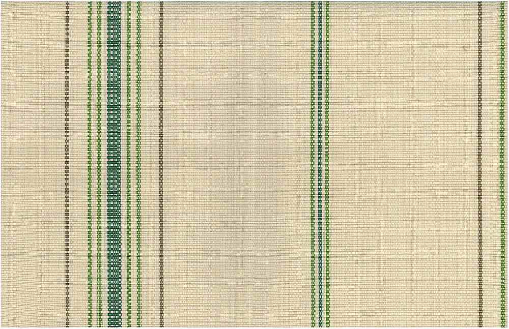 <h2>2239/3</h2> / FEEDSACK STRIPE / LEAF