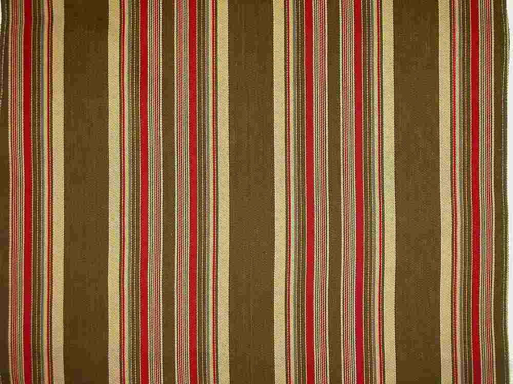 2131/1 / RANCH STRIPE  / BROWN/RED