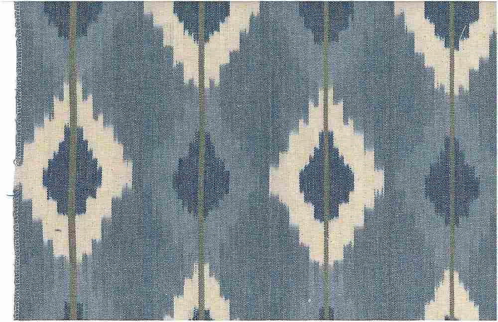 1510/2 / NOMAD IKAT  / PURE BLUES