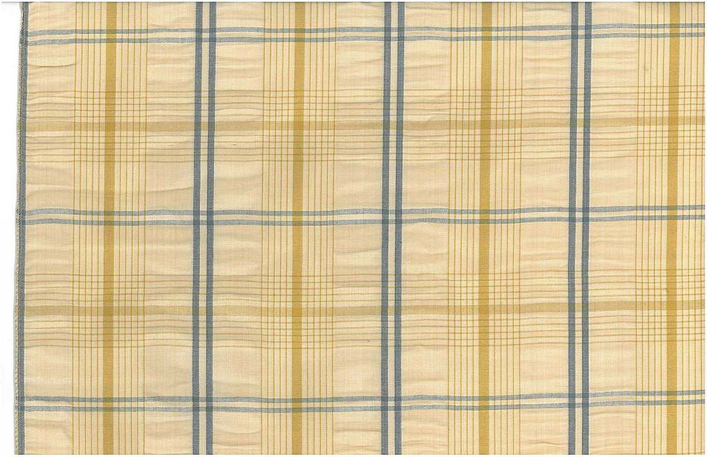 <h2>3180/2</h2> / HAMPTON SEERSUCKER / YELLOW/BLUE