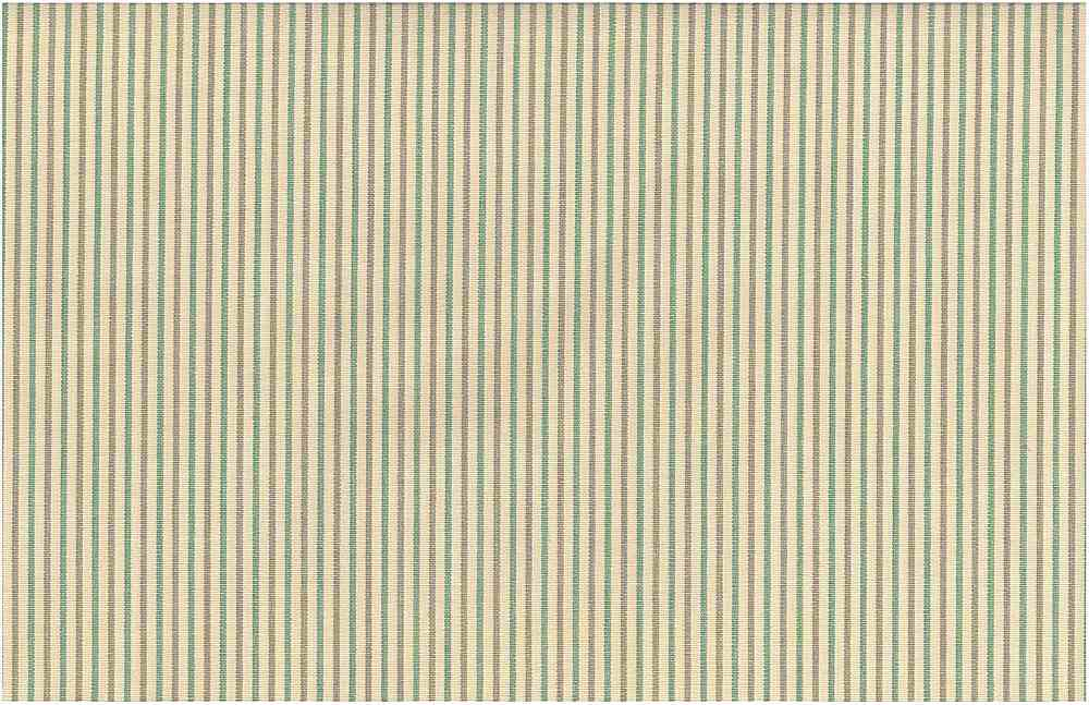 2247/1 / NANTUCKET PINSTRIPE / AQUA/TAN