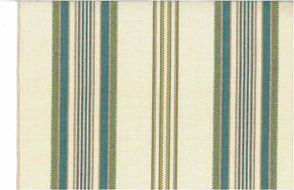 2222/5 / CASABLANCA STRIPE / TEAL