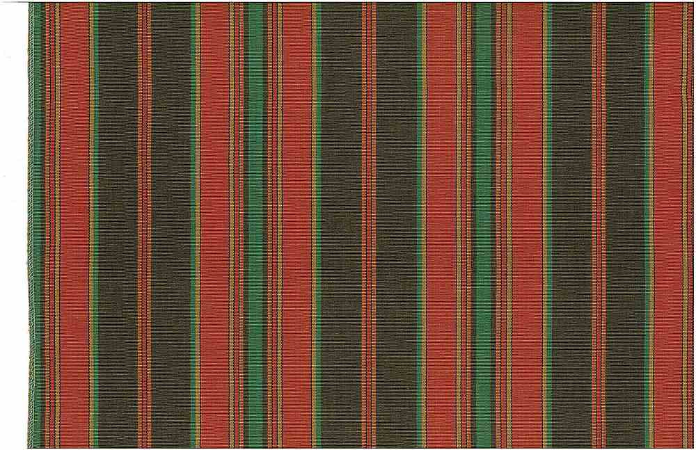 <h2>2248/5</h2> / CORFU STRIPE / BROWN/RED