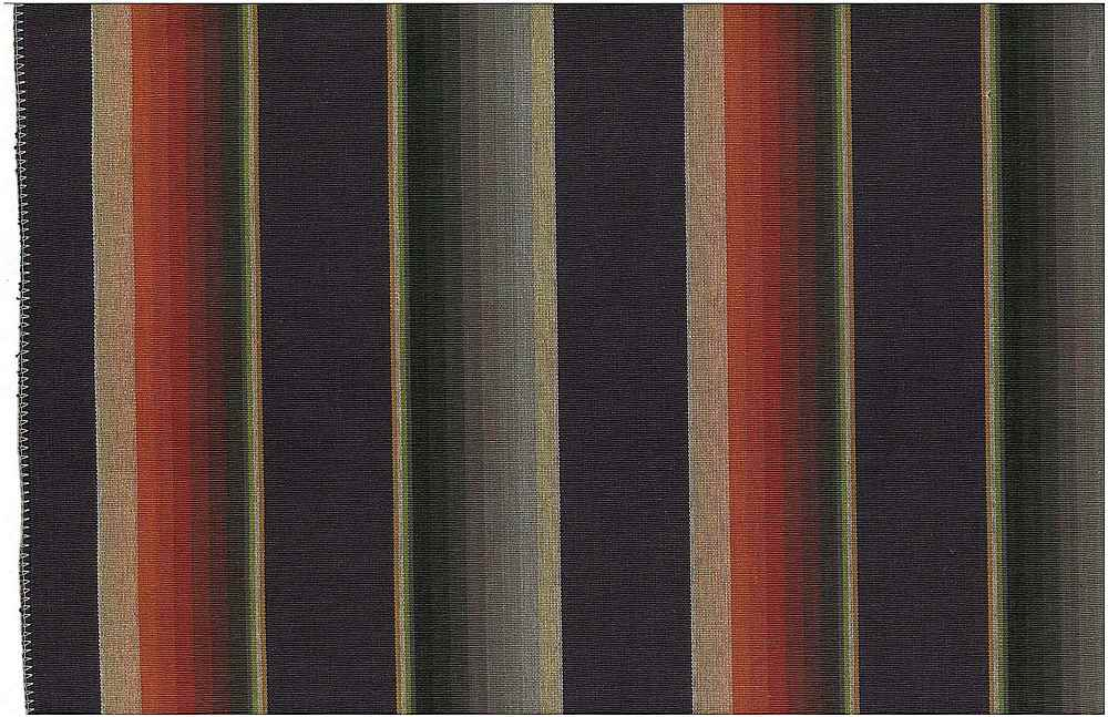 2249/1 / BANDERA STRIPE  / BLACK/MULTI