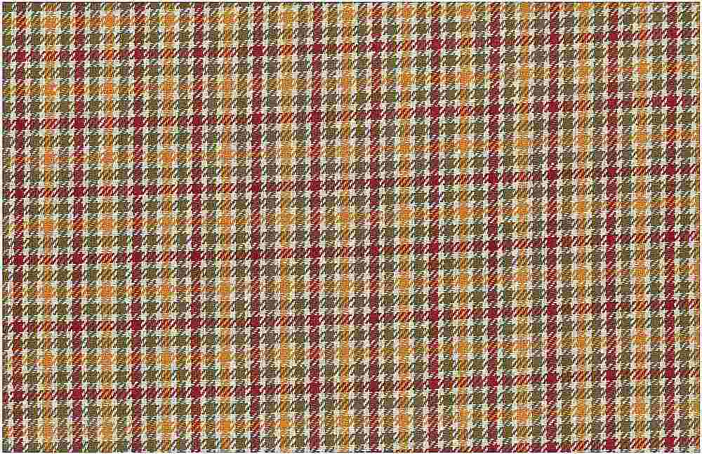 <h2>1168/2</h2> / ABERDEEN TWEED / WINE/KHAKI