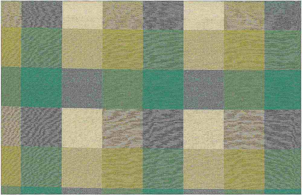 <h2>3181/2</h2> / FOURSQUARE PLAID / TEAL/CITRUS