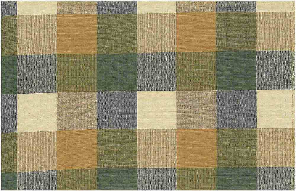 <h2>3181/3</h2> / FOURSQUARE PLAID / FLAX/TAN