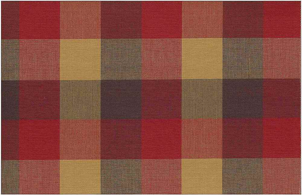 <h2>3181/5</h2> / FOURSQUARE PLAID / WINE/CHOC