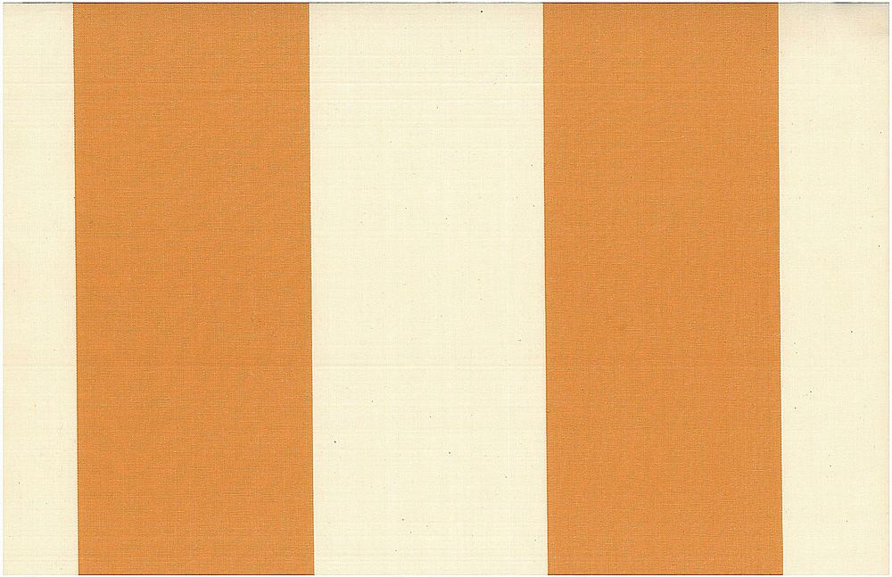 2268/3 / GRAND AWNING STRIPE / MANDARIN/NAT