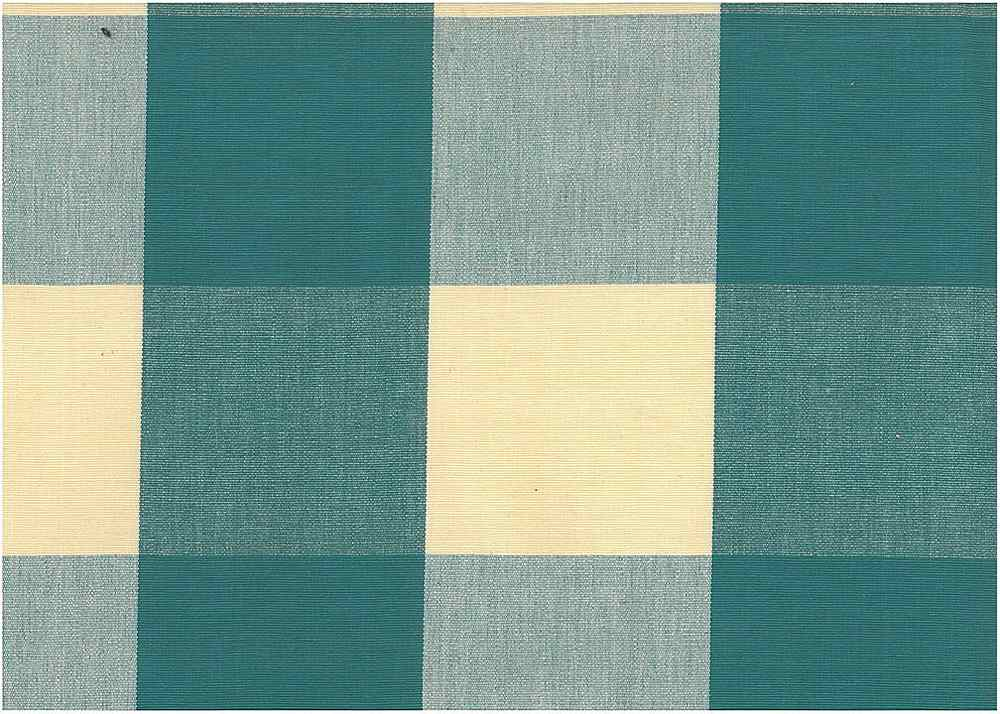 <h2>3170/15</h2> / FOUR INCH CHECK / TEAL
