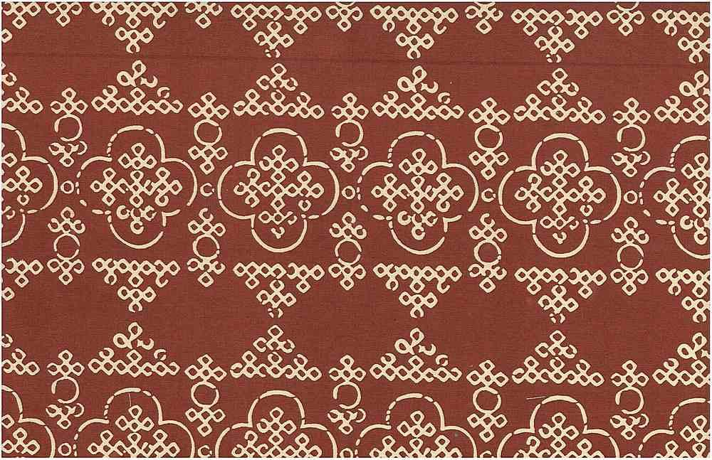 <h2>0965/4</h2> / BANDHANI PRINT / VENETIAN RED