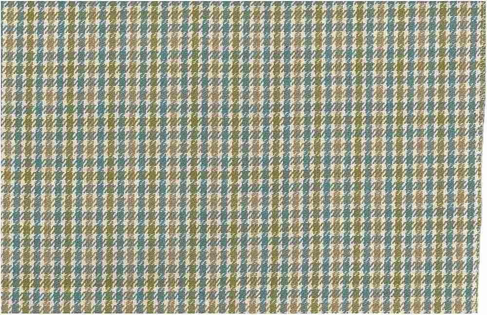 1168/4 / ABERDEEN TWEED / AQUA/GREEN