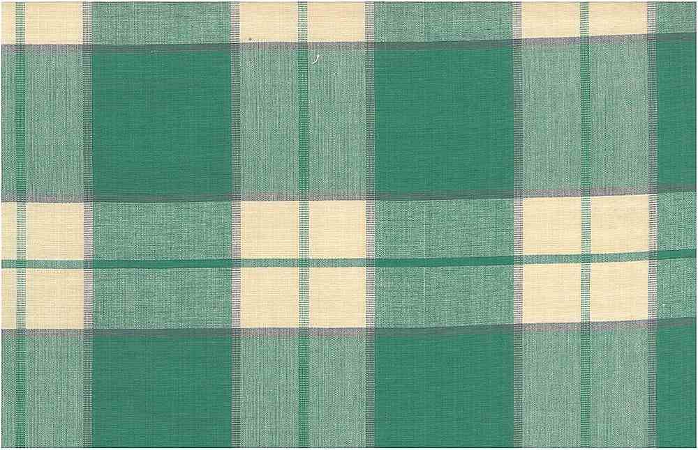 3182/2 / KINGSTON PLAID / JADE