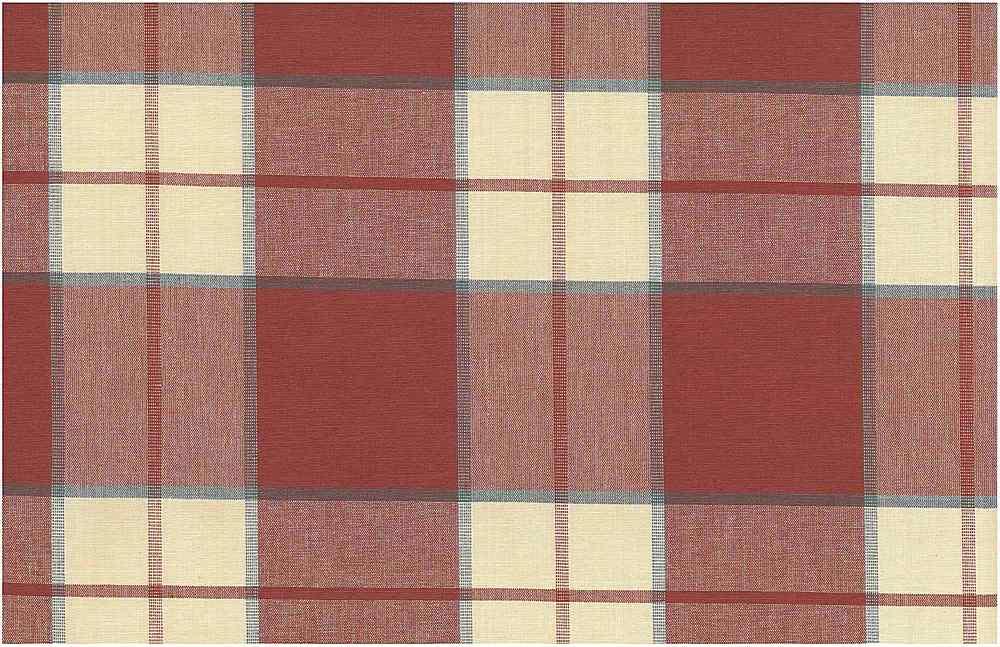 <h2>3182/3</h2> / KINGSTON PLAID / VENETIAN RED