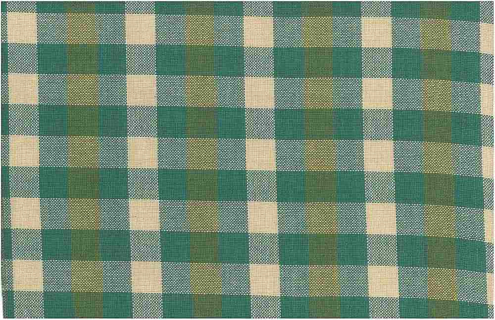 3183/2 / BLACKBURN PLAID / BASIL MULTI