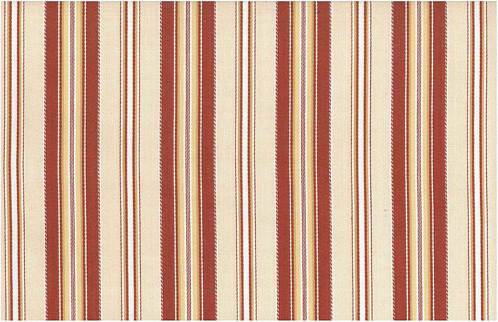 2272/2 / MARSEILLES STRIPE / CHILI