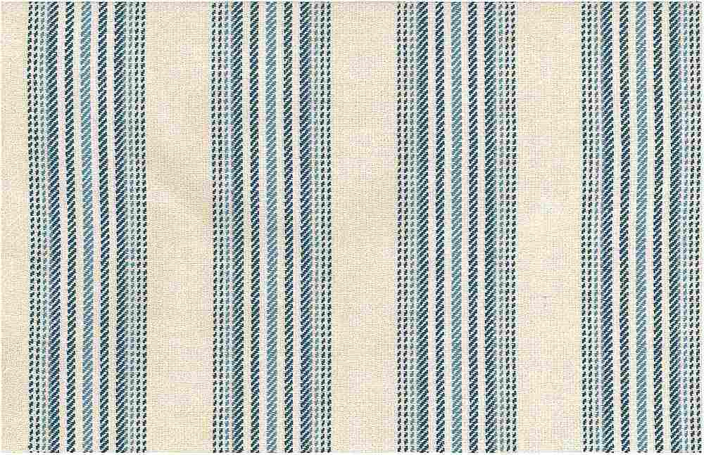 2274/1 / CHESHIRE STRIPE / NAT/BLUE
