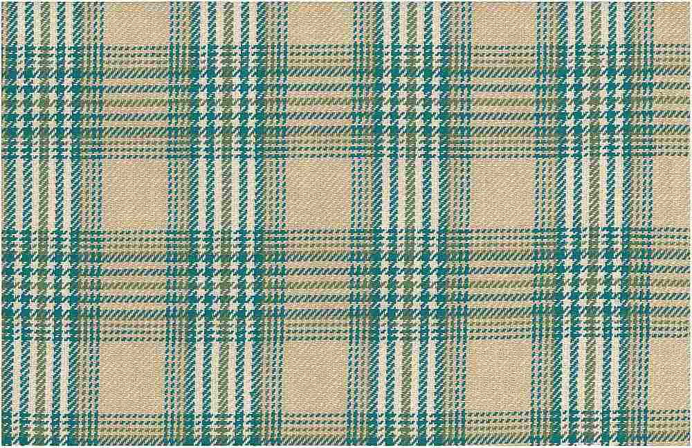 3184/3 / CHESHIRE PLAID  / SAND/TEAL