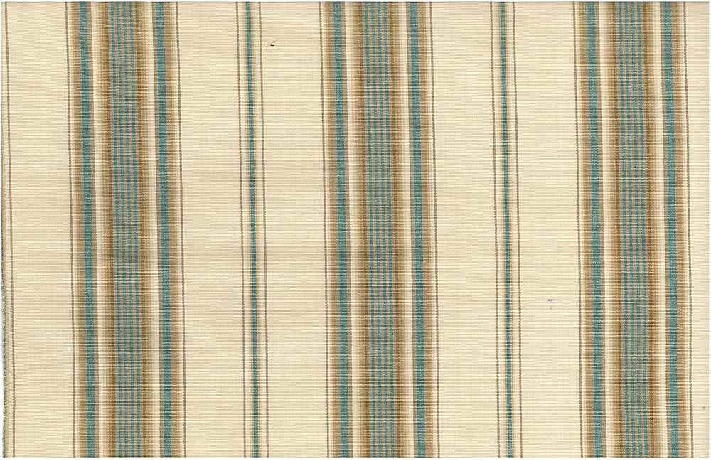 2223/2 / SARATOGA STRIPE / NAT/TEAL/TAN