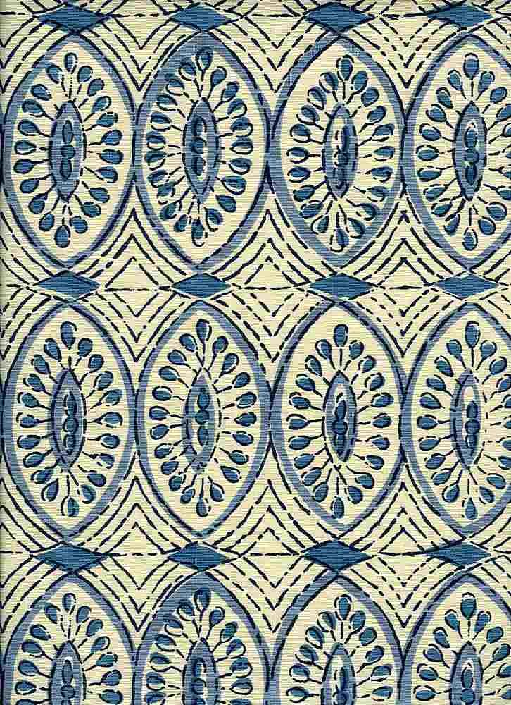0972/1 / NAGA PRINT / BLUE
