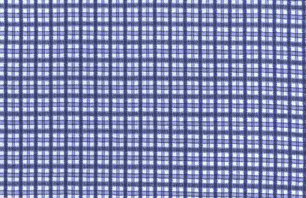 3153/2C / VERANDA CHECK  / BLUE
