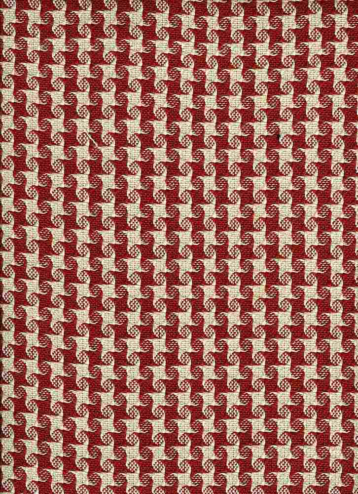 <h2>1174/2</h2> / BEACON HOUNDSTOOTH / RED/NAT