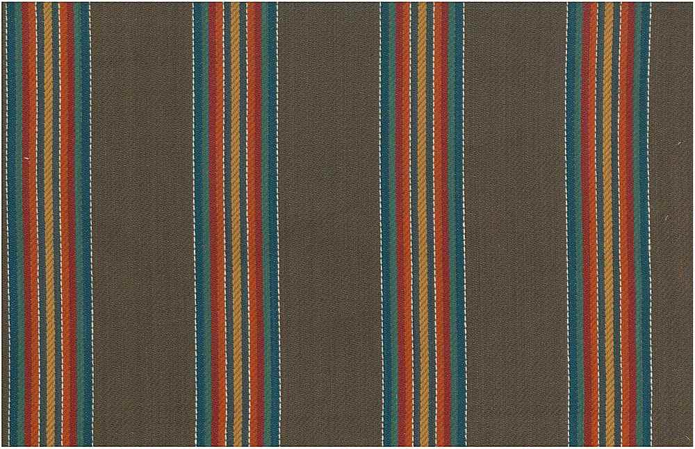2277/2 / LARAMIE STRIPE / BROWN MULTI