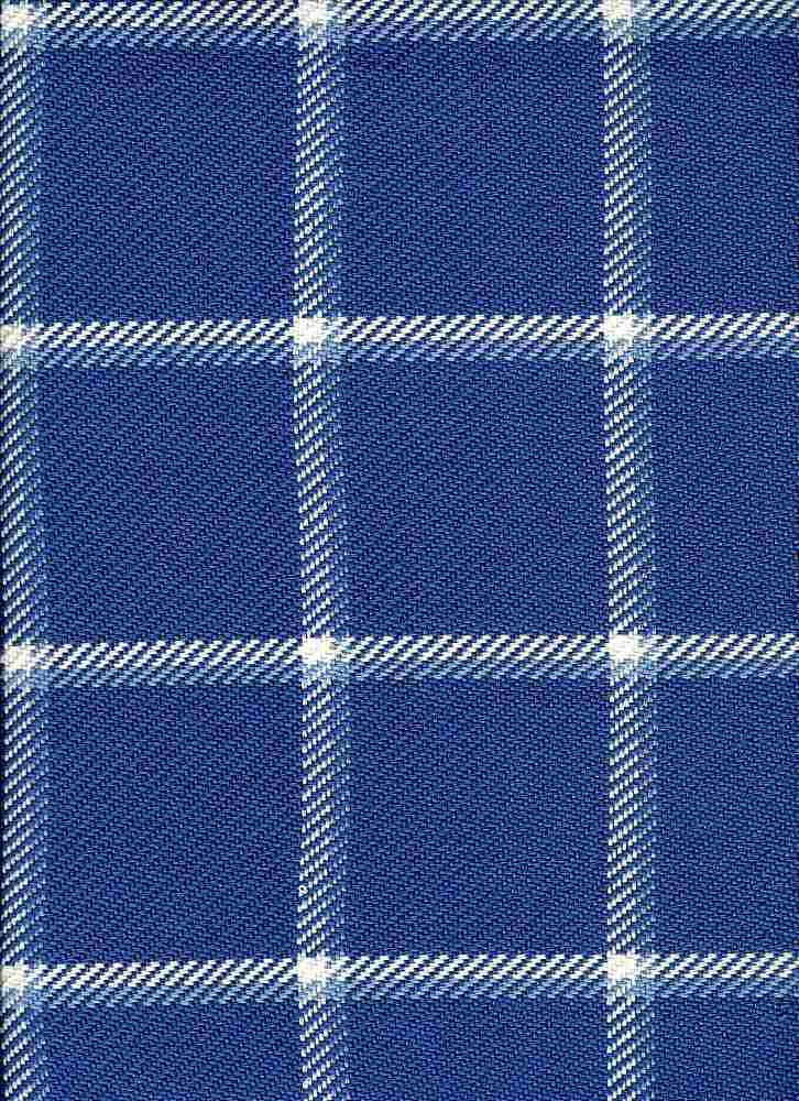 3186/1 / QUINCY PLAID / BLUE