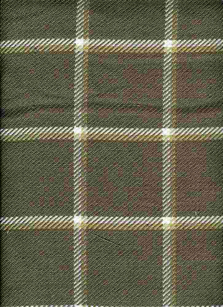 <h2>3186/3</h2> / QUINCY PLAID / FLAX