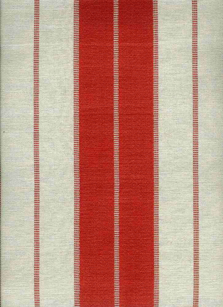 2280/4 / PARK AVENUE SATIN STRIPE  / CORAL