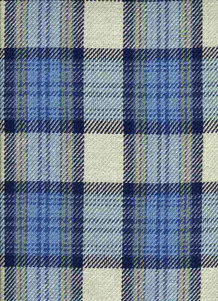 3187/1 / CORNISH PLAID / BLUES/NAT