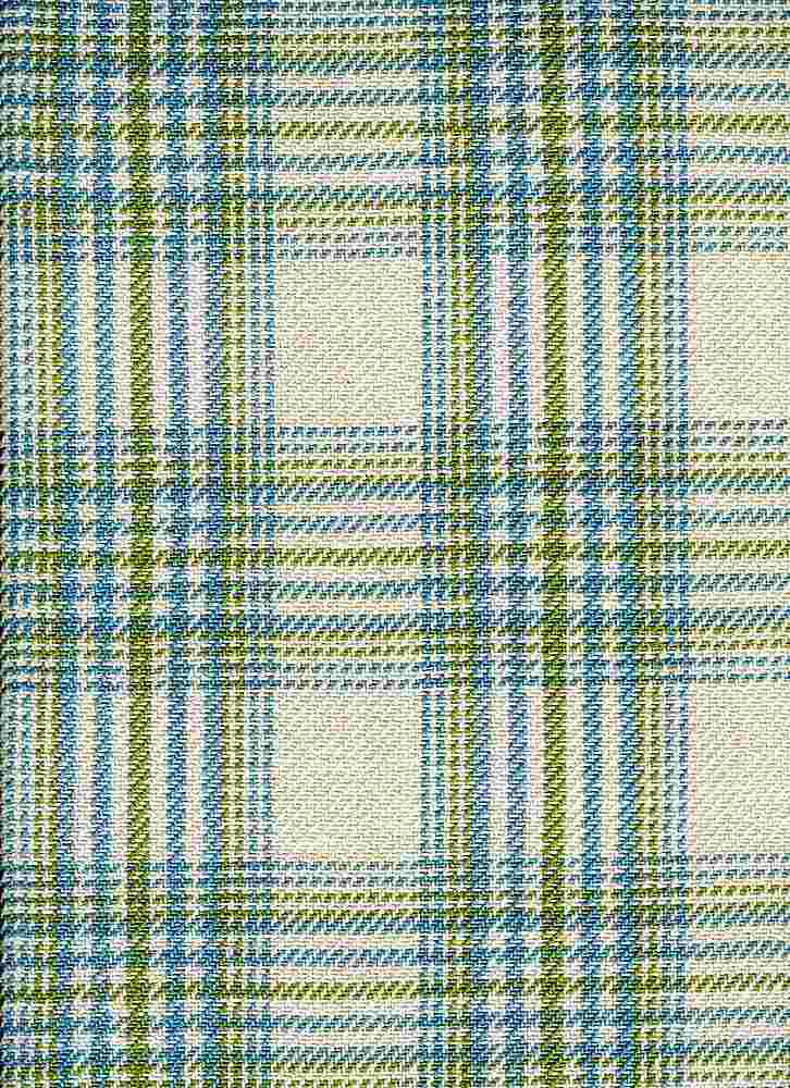 <h2>3184/5</h2> / CHESHIRE PLAID / NAT/BLU/GRN
