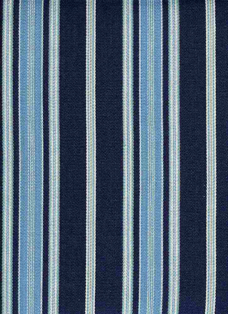 2284/1 / LONDON STRIPE / NAVY SKY