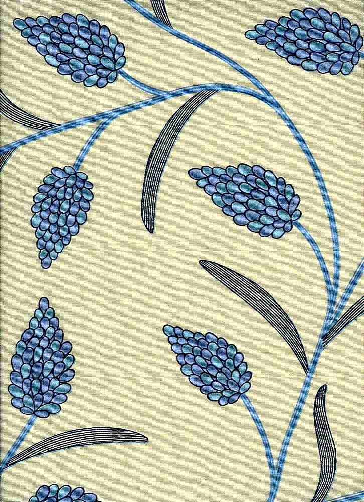 0986/1 / BLOSSOM PRINT / LUPIN