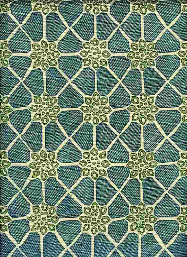 0987/2 / MARRAKESH PRINT / GLASS