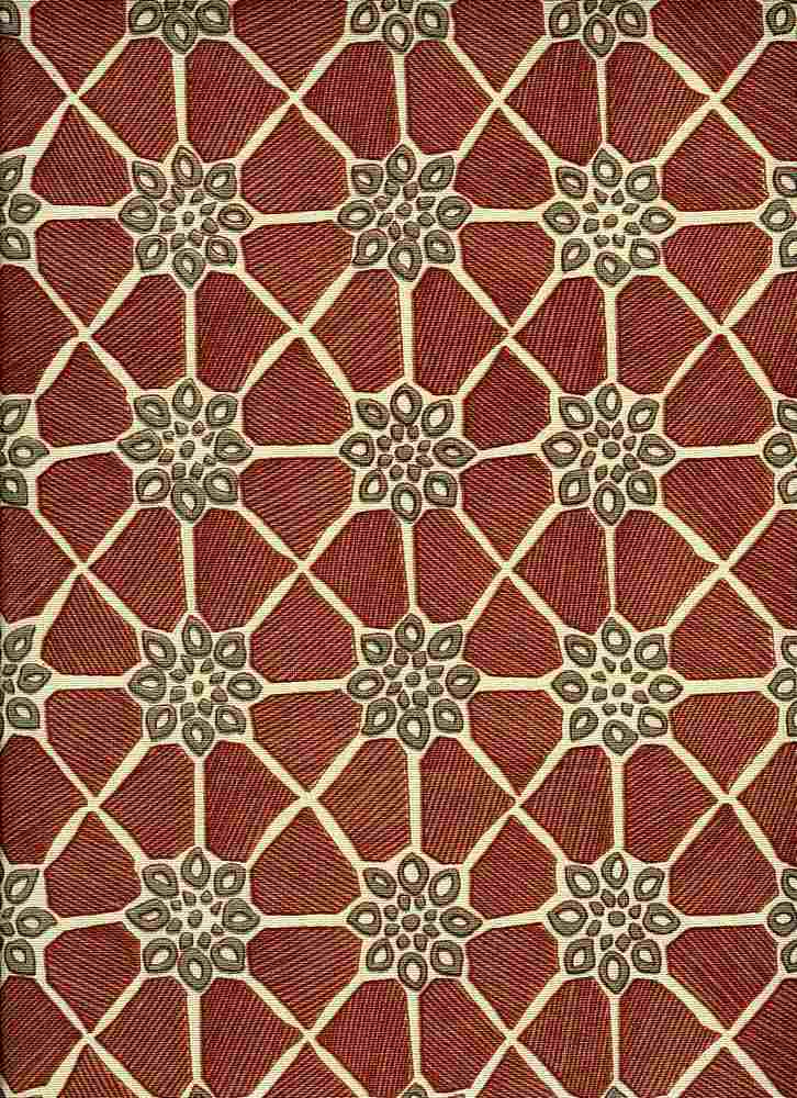 0987/3 / MARRAKESH PRINT / ROUGE