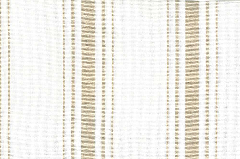 2270/5 / HARBOR STRIPE/PRESHRUNK / TAN ON WHITE