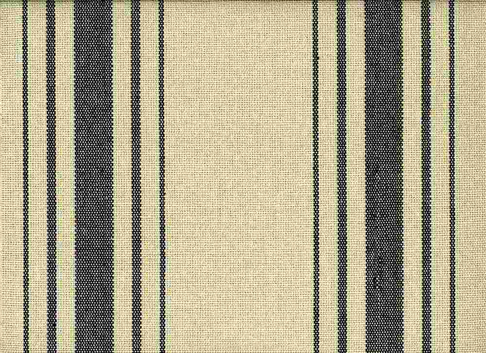 <h2>2270/6</h2> / HARBOR STRIPE/PRESHRUNK / BLACK ON FLAX
