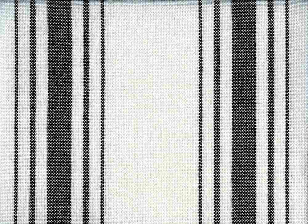 2270/7 / HARBOR STRIPE/PRESHRUNK / BLACK ON WHITE