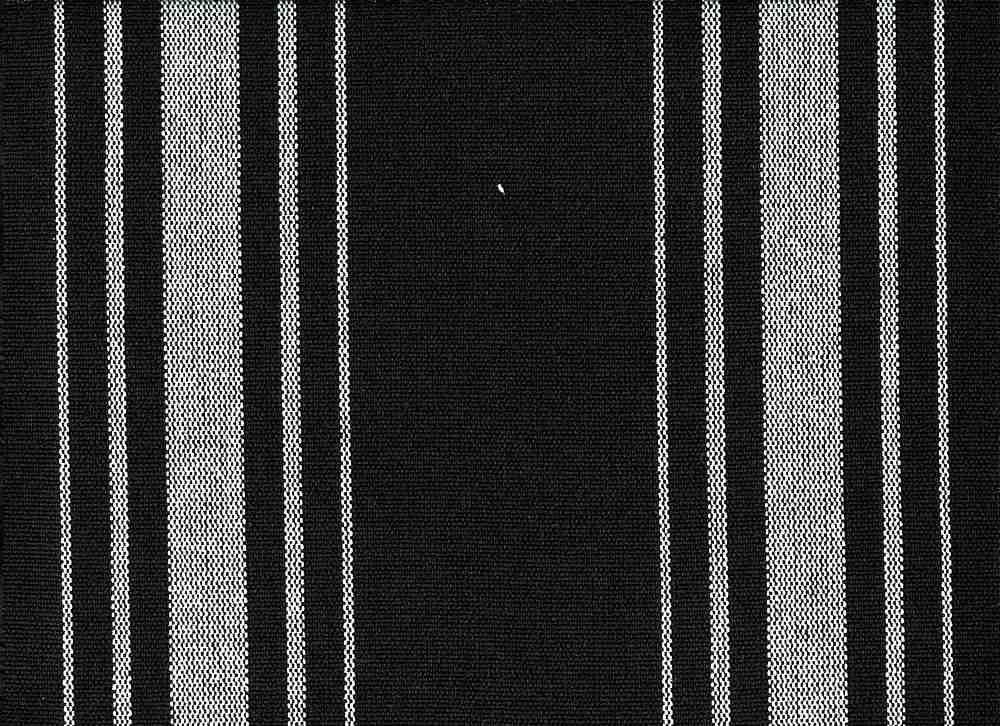 <h2>2270/8</h2> / HARBOR STRIPE/PRESHRUNK / WHITE ON BLACK
