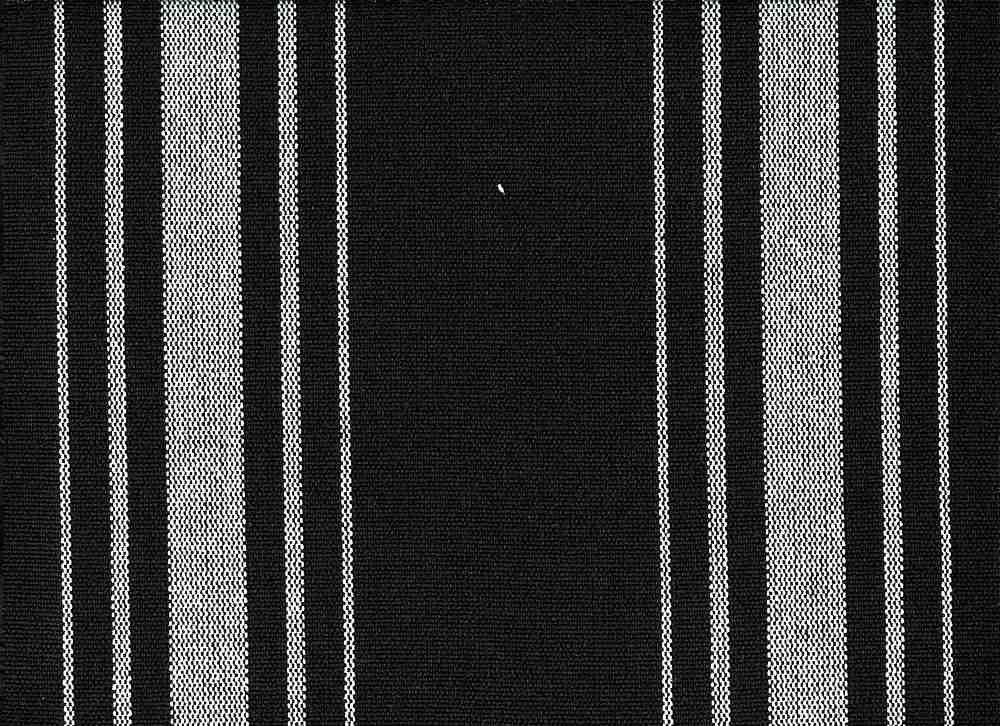 2270/8 / HARBOR STRIPE/PRESHRUNK / WHITE ON BLACK
