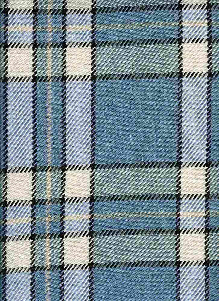 <h2>3188/3</h2> / MANHATTAN PLAID / ARCTIC BLUE