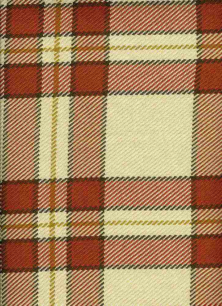 <h2>3188/4</h2> / MANHATTAN PLAID / SAND/CLAY