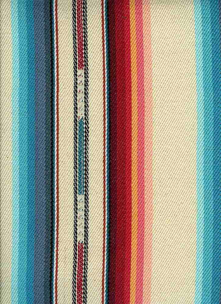 <h2>2293/1</h2> / SILVER CITY STRIPE / CREAM MULTI